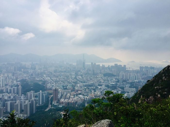 hiking in hing kong, Lion Rock HongKong Froggy Lion Rock Hiking Hong Kong Lion Rock In Hong Kong City Architecture Building Exterior Building Built Structure Cityscape Sky Cloud - Sky Office Building Exterior Skyscraper Landscape Nature Residential District Urban Skyline Crowded Crowd High Angle View City Life Modern Outdoors