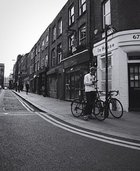London Shoreditch B&w Street Photography Down These Roads