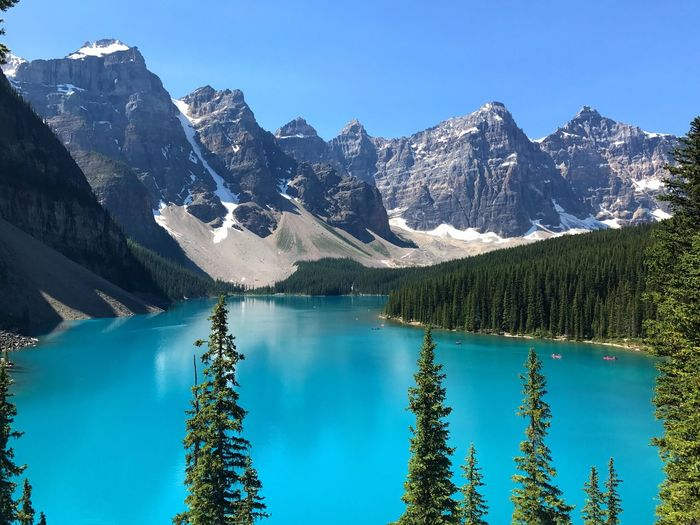 Moraine lake Moraine Lake Turquoise Blue Beauty In Nature