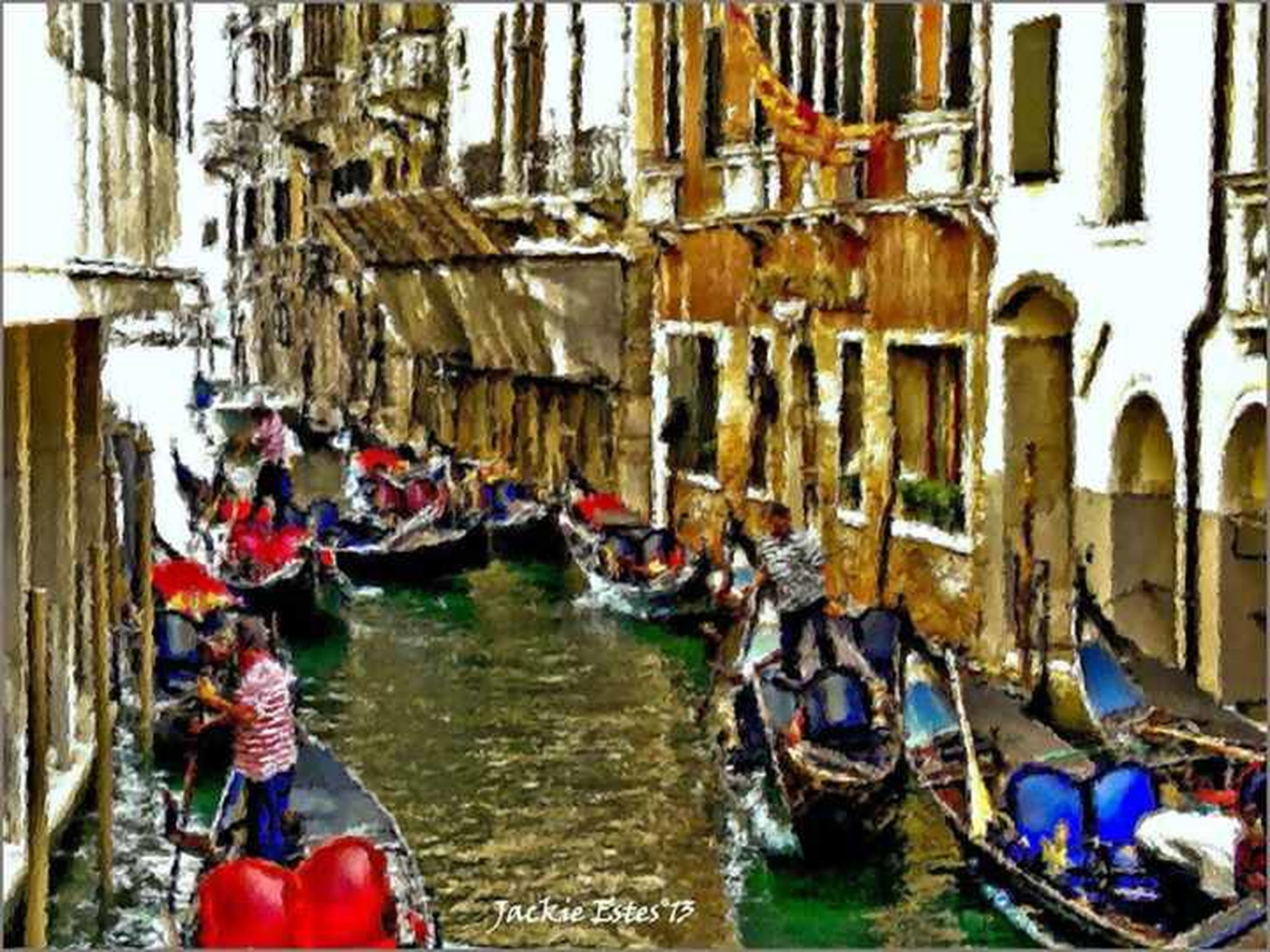 architecture, built structure, building exterior, water, market, men, market stall, lifestyles, person, nautical vessel, retail, canal, large group of objects, large group of people, leisure activity, for sale, day, boat, abundance