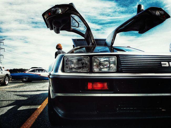 Delorean Cars CarShow Dmc Gullwing