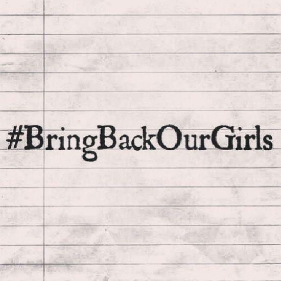 BringBackOurGirl Bringbackourgirls BBOG StopKilling StopTrafficking ProtectOurChildren WeAreNotForSale SpreadTheWord
