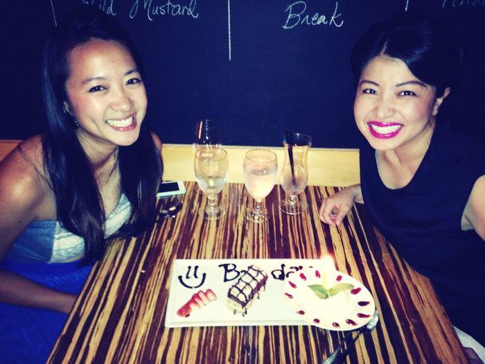 Thanks for the birthday dinner, Steph!