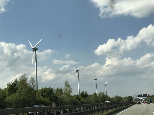 Alternative Energy Cloud - Sky Day Environmental Conservation Fuel And Power Generation Industrial Windmill Live For The Story Nature No People Outdoors Renewable Energy Rural Scene Sky Technology Traditional Windmill Tree Wind Power Wind Turbine Windmill