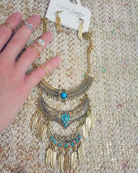 Yayornay Taking By Me Taking Photo MyPhotography Myphoto By Me Photography That's Me Me Myhand Blue Necklace Necklace Rings Decorated Hand My Necklace Golden Color Hand Style Fashion Jewelry Fashion Style Fashion Fashion Photography Style Mystyle Check This Out EyeEm Fashion