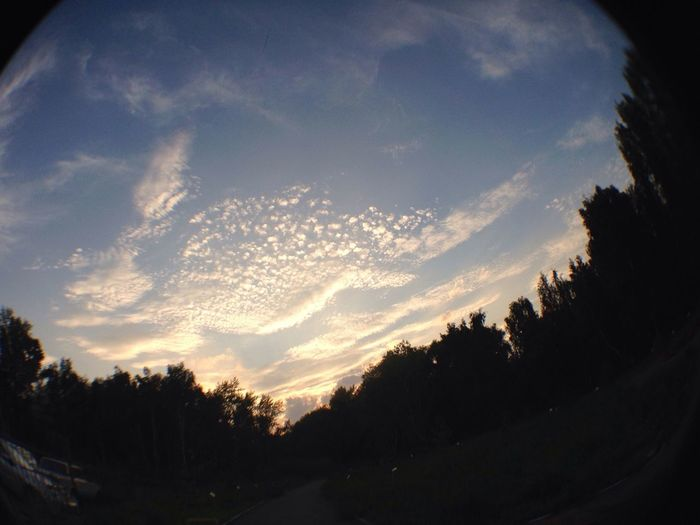 Вы только взгляните на это чудесное небо ?