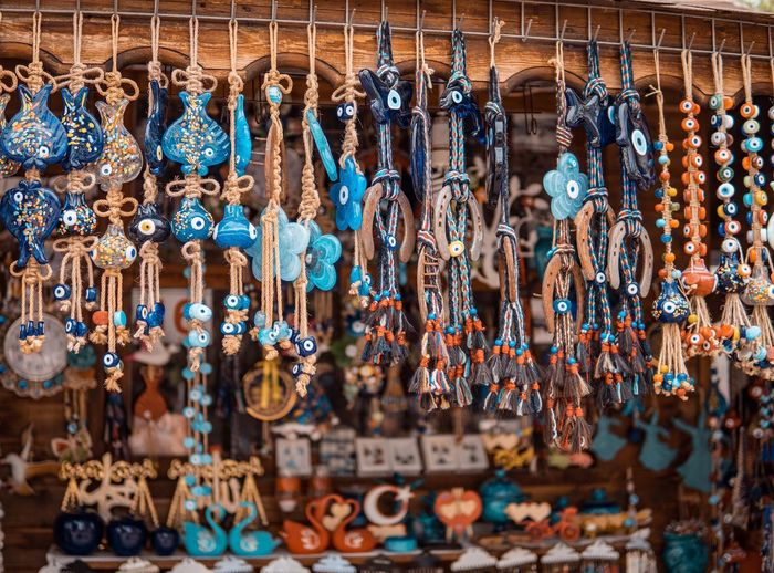 Multi Colored No People Creativity Art And Craft Hanging Variation Choice Large Group Of Objects Full Frame For Sale Arrangement Decoration Retail  Market Craft Outdoors