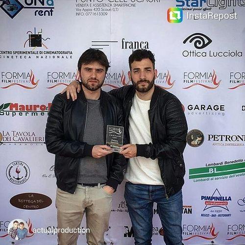 Ce premiano pure... Premiospeciale Formiafilmfestival Actual