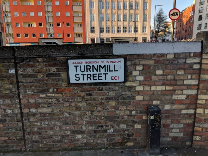 Turnmill Street Borough Ec1 London Turnmill Street Architecture Building Exterior City Outdoors No People Text