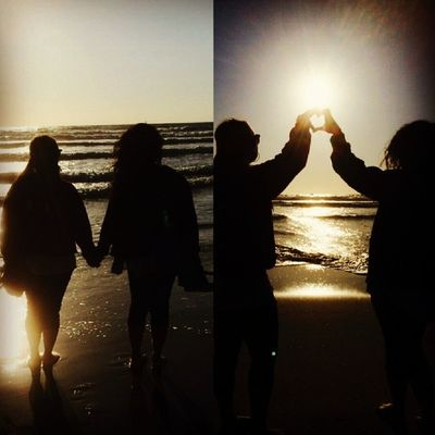 Oh you know.. Just watching the sunset with my boo thang... <3 @donut4you Latepost SD