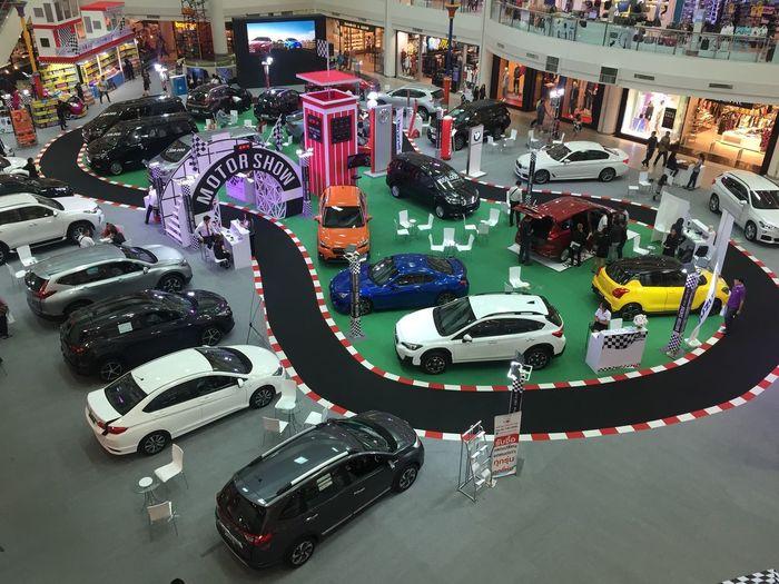 Car show. High