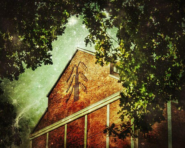 Getreidesilo Silo BOB Brick Old Building Kornhaus Wheat Night View