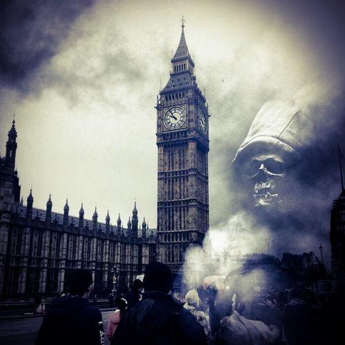Deatheaters in London Photoshop Creativity London Creative Edit DeathEater Photomanipulation