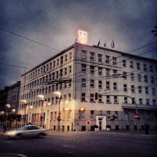 Magistrat Prezydium Gdynia @gdynia_official @gogdynia October fall evening clouds
