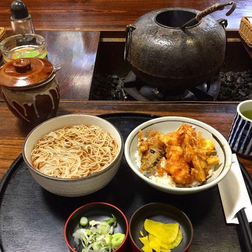 天丼 蕎麦 日本 TENDON Soba Japanesefood Food Japan
