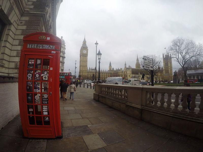 London Gopro Europe City Bigben
