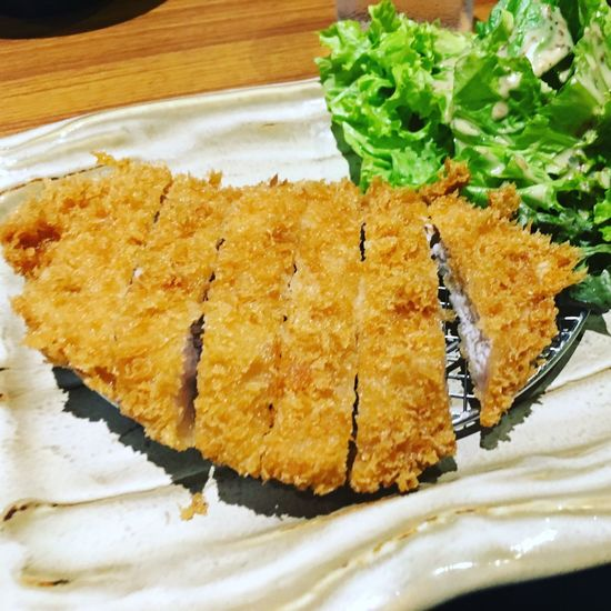Chicken cutlet Food And Drink Meal Food Cutlet Japanese Food Katsu Chicken Katsu