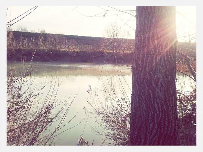l'incazzatura qui scompare grazie alla calma contagiosa e il silenzio dell'acqua Walking Around