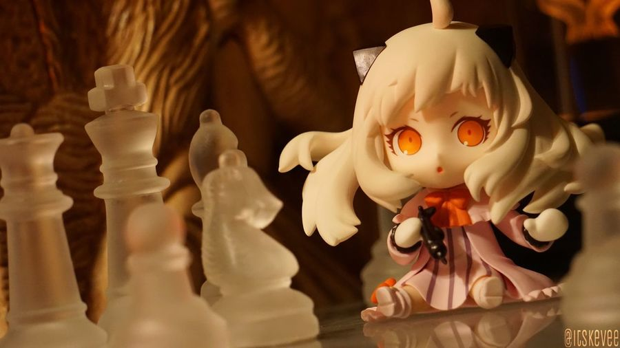 Hoppou: Checkmate Chess Checkmate Hoppou Northern Princess Toyphotography Still Life Nendoroid ねんどろいど Creativity Focus On Foreground Anime Art 艦コレ 艦隊これくしょん Kantaicollection Kancolle Indoors  Planes Toys
