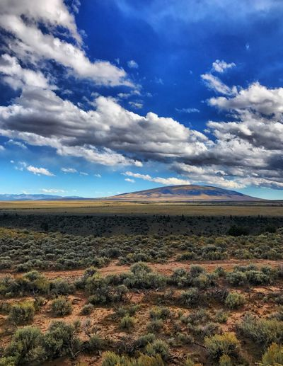 The magnificent and breathtaking Mount San Antonio.. considered to be the largest Round Mountain in the world. I have two friends @sandovalmorris @anarabago11 who find this mountain quite sexy. Took this shot off the Cumbres & Toltec RR at Lava, New Mexico. Landscape Scenics Tranquil Scene Cloud - Sky Mountain