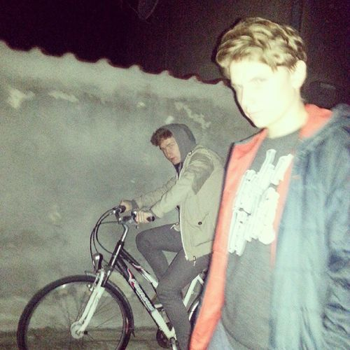 Modeleczki Dupeczki Polishboys Googboys night driver bicycle good day pozdrawiam @famoouuus ❤