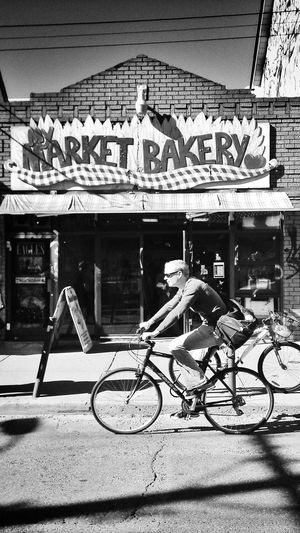 Bakery Clothesencounters  Market Bike