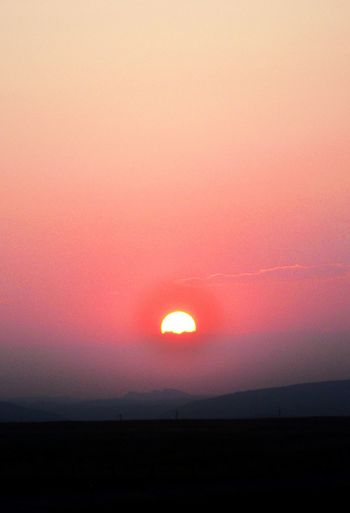 California fires, smokey sunset ,in Wyoming Share Your Adventure My Best Photo 2015 Hello World Taking Photos Check This Out EyeEm_abandonment Nordic Light Hanging Out Sunset Silhouettes Sunrise Silhouette Sunset_collection Sunsets_capture Enjoying Life