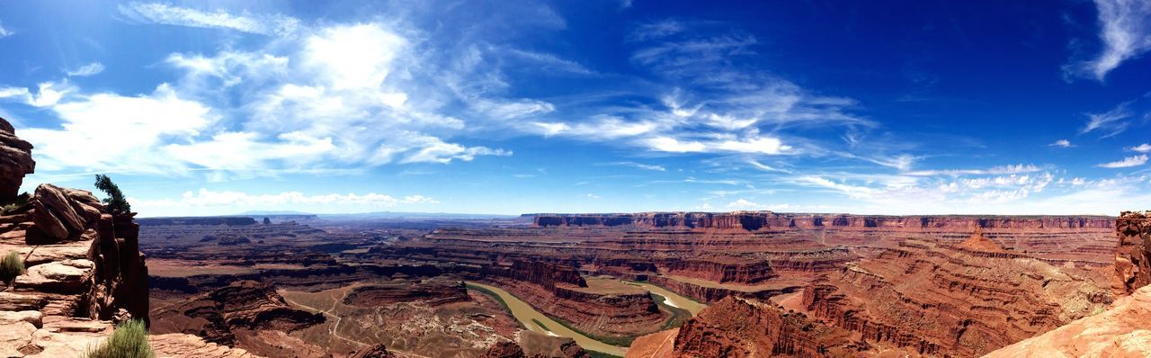 Panoramic View Of Grand Canyon