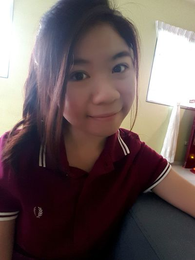 Happy Chinese New Year 2016 Fredperry Occasion Selfie ✌ Malaysia Ipoh Self Portrait Monkey Year Chinesegirl Chinese New Year 2016 RedShirt  Fortune