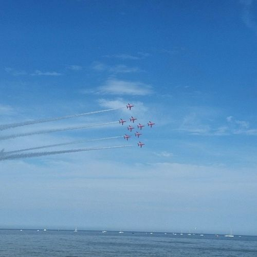 Redarrows Sunderland Airshow Sea ✈