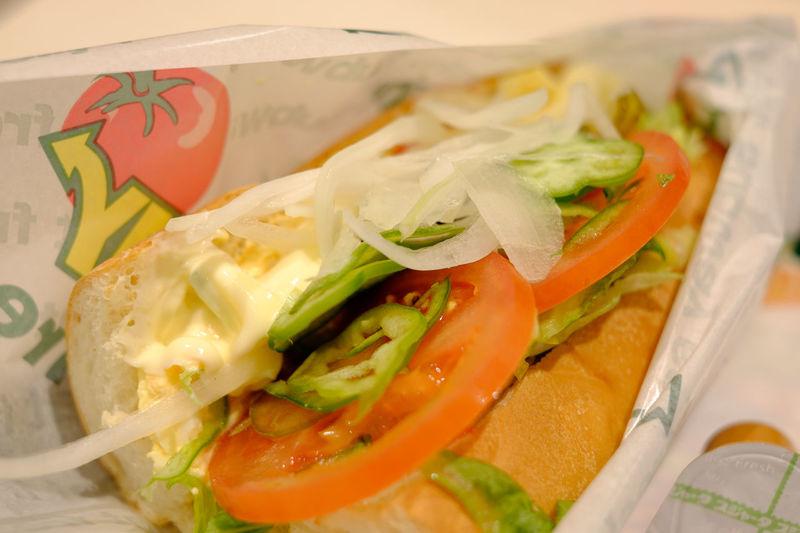 サブウェイ Subway Bread Food Foodphotography Foodporn Fujifilm Fujifilm X-E2 Fujifilm_xseries Japan Japan Photography Meal Subway サブウェイ ばん