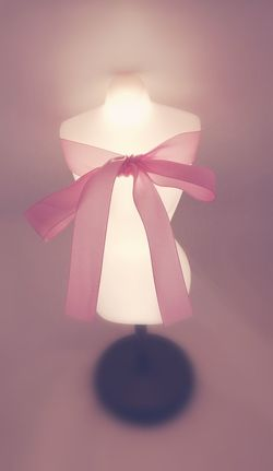 Pink Ribon Light Single Object Millennial Pink Millennial Girl Millennial Pink Pink Color Pink Colors Pink Color Pink Ribbon Mannequin Girly