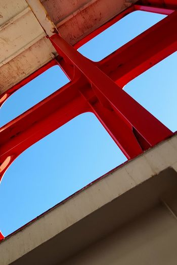 Red Low Angle