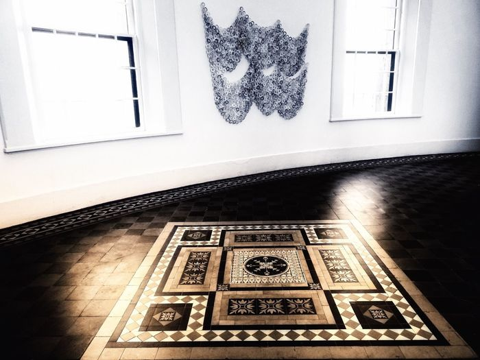 Indoors  Window Table No People Home Interior Day Architecture Close-up EyeEm Best Edits Capture The Moment Haunted Hotel Henry Eye4photography  EyeEm Gallery Floor Patterns Floor Tiles Wall Art