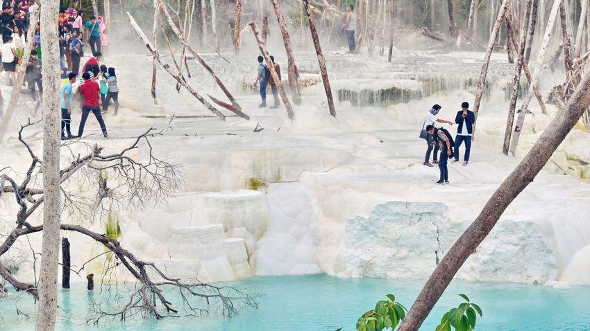 INDONESIA Nature Tinggiraja Hotsprings Panoramic Landscape