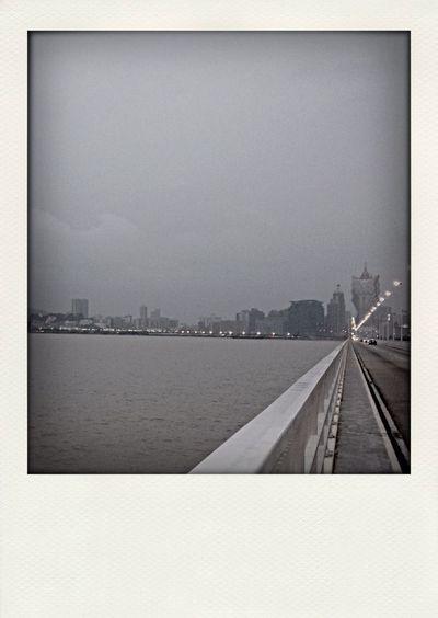 Governor Nobre De Carvalho Bridge was the world's longest cross-sea bridge in 1974. Black And White Bridge