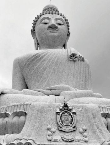 Finding Peace Within Place Of Worship Stone Buddha Buddha Statue Meditate Peaceful Lifestyles Close-up EyeEm Selective Focus Eyeem Market Photography Is My Escape From Reality! Perspective From My Point Of View Eye4photograghy Eyeemphotography ForTheLoveOfPhotography Buddhas Tranquil Scene Monochrome Photography
