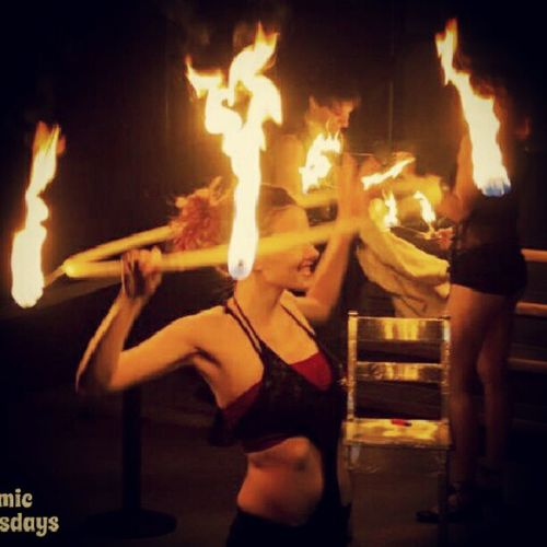 Check This Out Fireshow Fire Shes On Fire