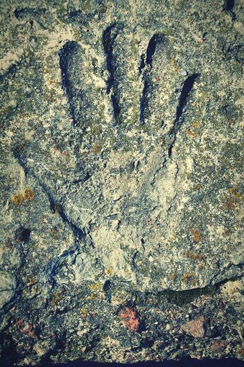 Hand Stone Day Textured  Close-up Nature Nature Mistic Atmosphere Mistic Human Body Part Human Hand Outdoors