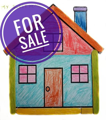 House for sale sign, For sale text on house drawing background. Text Close-up Sign Building Exterior Home House For Sale House For Sale Home For Sale Home Loan Sold House Drawing