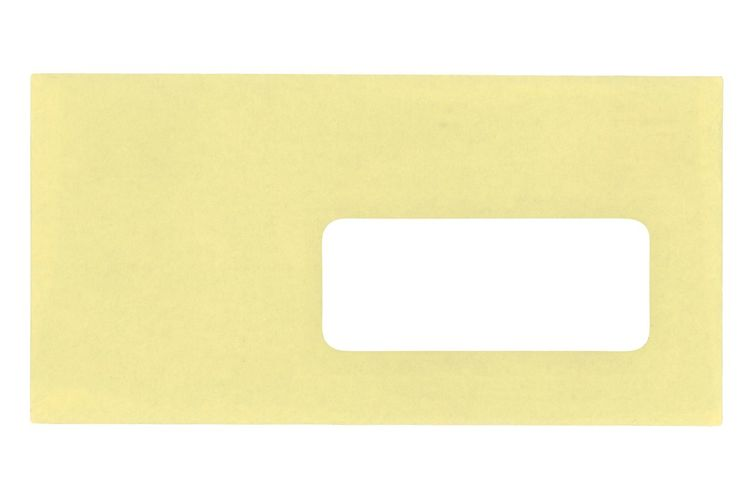 Close-up of a yellow paper