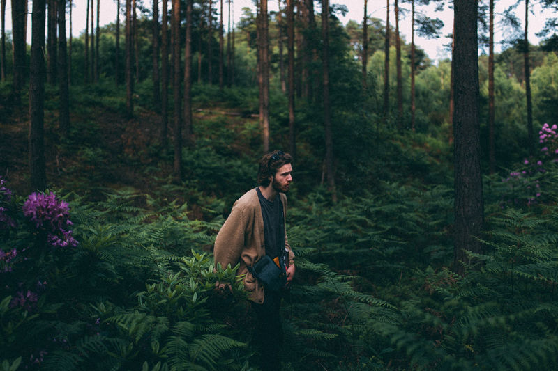 Adult Adults Only Beard Dark Day Deep Forest Gloom Gloomy Hipster - Person Men Natural Nature Nature Photography One Man Only One Person Only Men Outdoors People Portrait Real People Tree Trees Young Adult