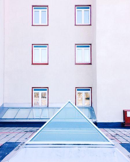 🔼🔼🔼 TheWeekOnEyeEM Pyramid Minimal Architecture Showcase: January Pastel Power