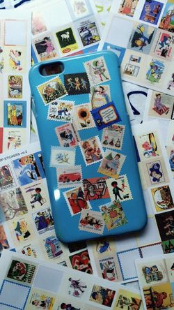Phonecase on spot! Phonecase Vintage Stickers Loveit Chiu's2016 Holiday Vibes