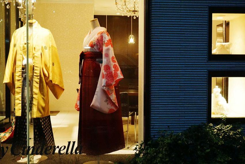 In Japan Fukuoka City  Nightphotography In My Car Shop Bridal Fashion Japanese Style KimonoStyle Rany Day
