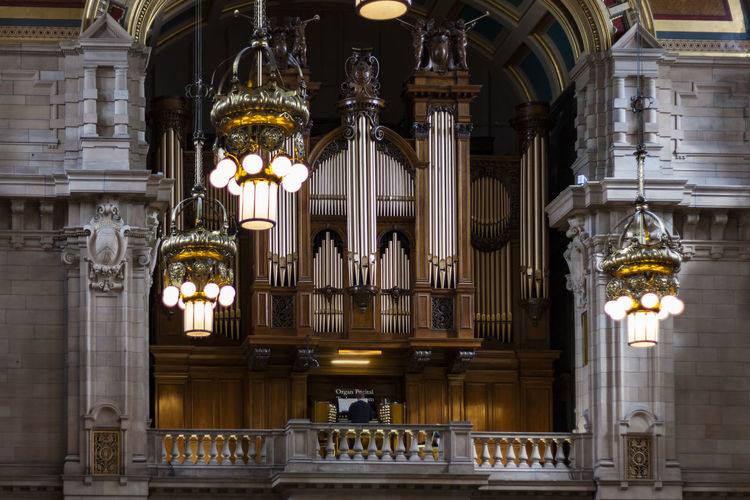 Organist playing the Organ, Kelvingrove Art Gallery and Museum, Glasgow, Scotland Architectural Column Architecture Art Gallery Built Structure Candle Day Glasgow  Gothic Style Hanging History Illuminated Indoors  Kelvingrove Kelvingrove Art Gallery Museum No People Old Organ Organist Pipe Organ Place Of Worship Playing Religion Scotland Spirituality