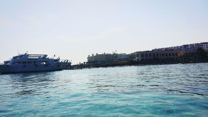 Water Reflections Red Sea Hurghada Sea Egypt Traveling Yacht EyeEm Small And Swift EyeEmNewHere