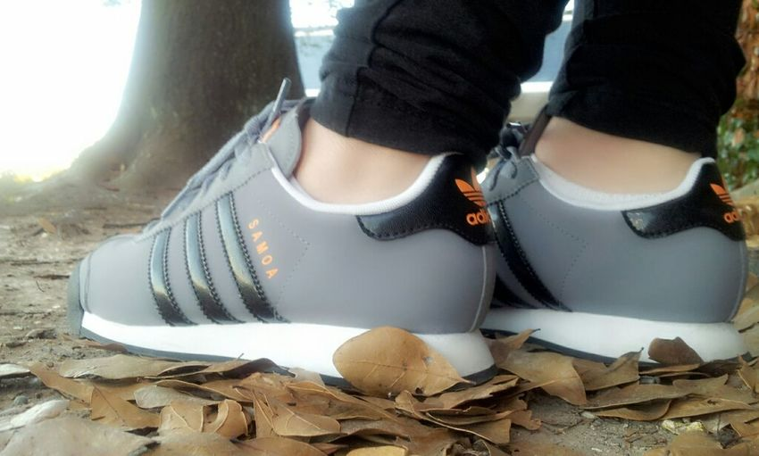 The Best Way To A Woman's Heart Is Through Her Sole . Adidas' Samoa  My Kicks Stay Fresh