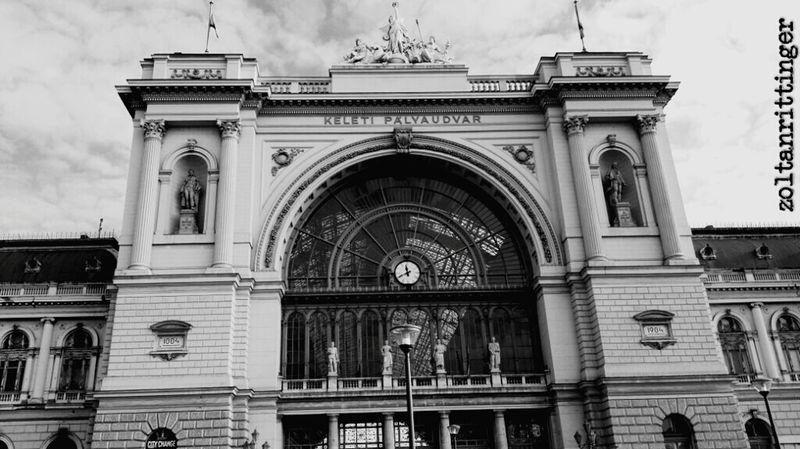 Keleti Pályaudvar Keleti Railway Station Budapest, Hungary