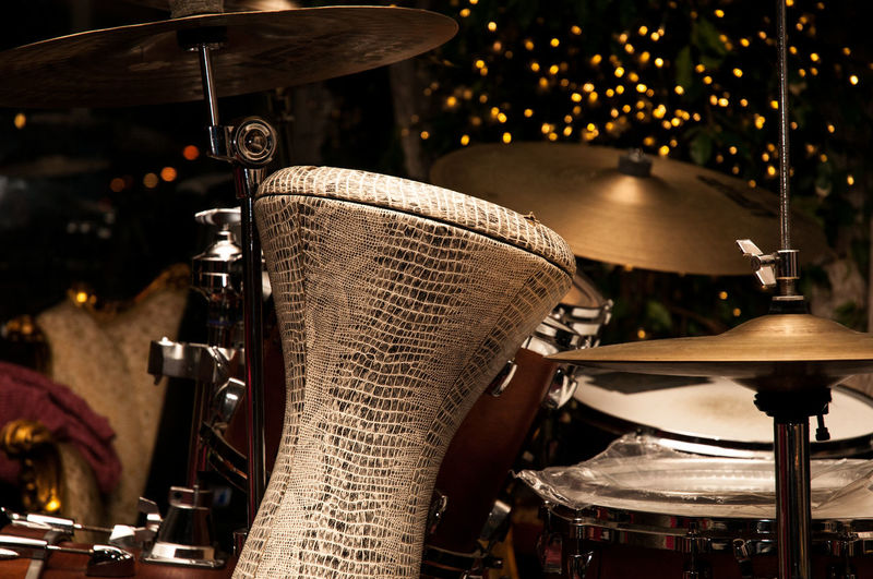 The colors of music Drum Kit EyeEmNewHere Live Music Music Rock Stage Drum - Percussion Instrument Drum Set Musical Instrument Percussion Instrument